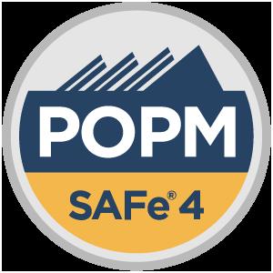 SAFe® 4 Product Owner/Product Manager (POPM4) Badge