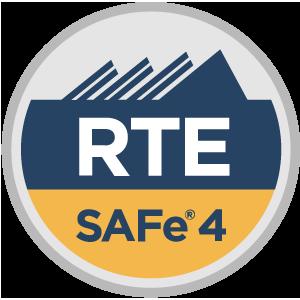 SAFe® 4 Release Train Engineer (RTE4) Badge