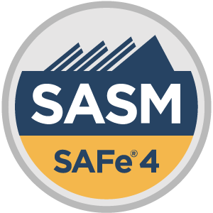 SAFe® 4 Advanced Scrum Master (SASM4) Badge