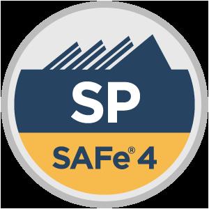 SAFe® 4 SAFe Practitioner (SP4) Badge