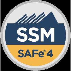 SAFe® 4 Scrum Master (SSM4) Badge
