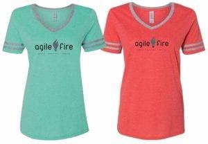 AgileFire Ladies T-Shirts