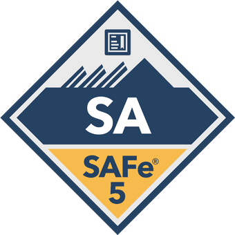 SAFe 5 Agilist Certification Badge