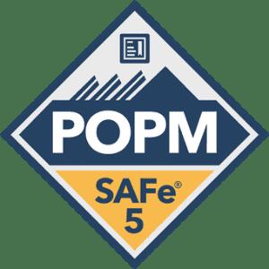 SAFe 5 POPM Certification Badge